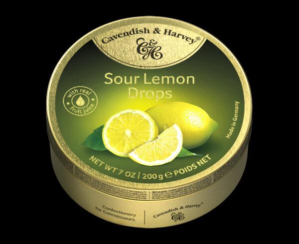 Sour Lemon Drops, 200g