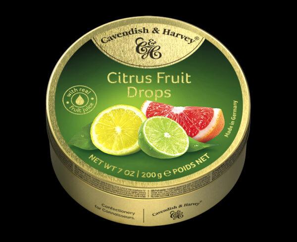 Citrus Fruit Drops, 200g