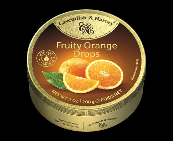 Fruity Orange Drops, 200g