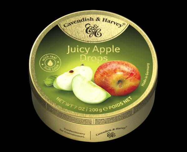 Juicy Apple Drops, 200g