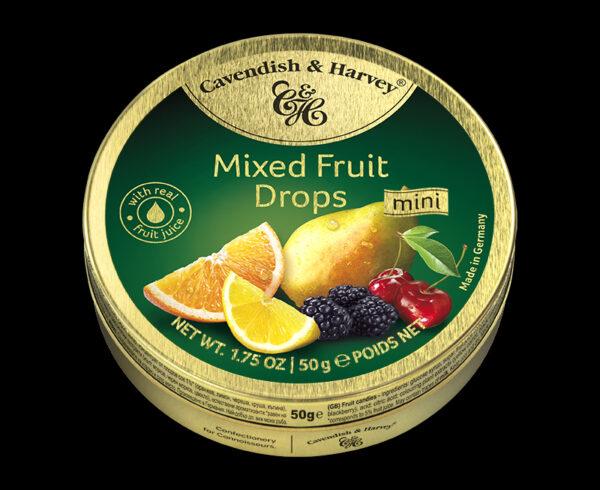 Mixed Fruit Drops, 50g