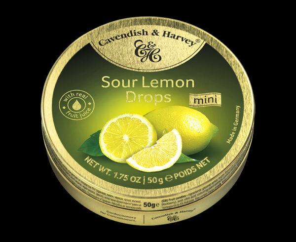 Sour Lemon Drops, 50g
