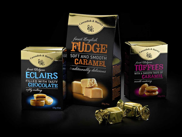 Toffees, Eclairs, Fudge