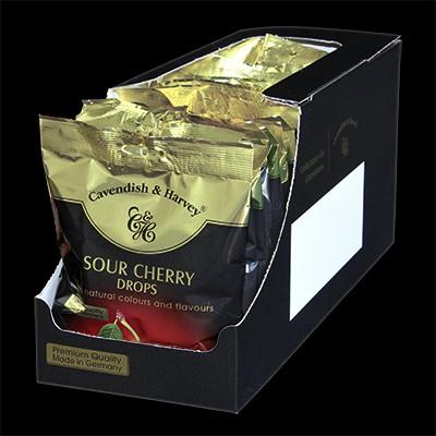 Sour Cherry Drops, einzeln verpackt 15x100g