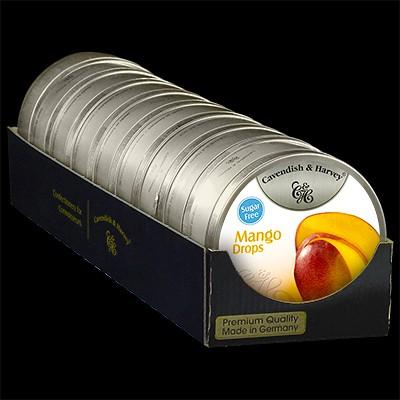 Mango Drops Sugar Free 9x175g