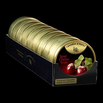 Sour Cherry Drops 9x200g