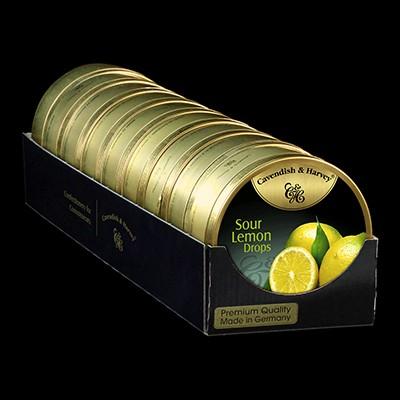 Sour Lemon Drops 9x200g