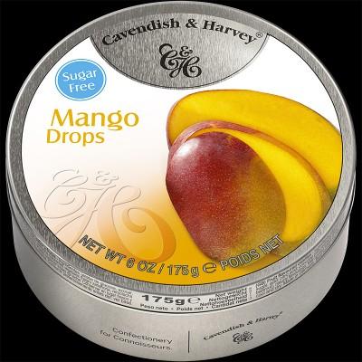 Mango Drops Sugar Free 175g