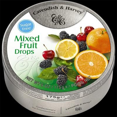 Mixed Fruit Drops Sugar Free 175g