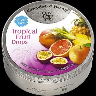 Tropical Fruit Drops Sugar Free 175g