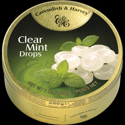 Clear Mint Drops 200g