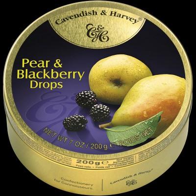 Pear & Blackberry Drops 200g