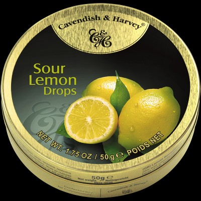Sour Lemon Drops 50g