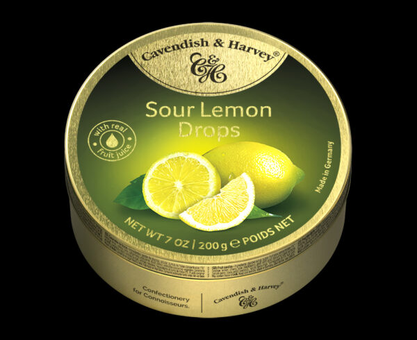 Sour Lemon Drops, 200g