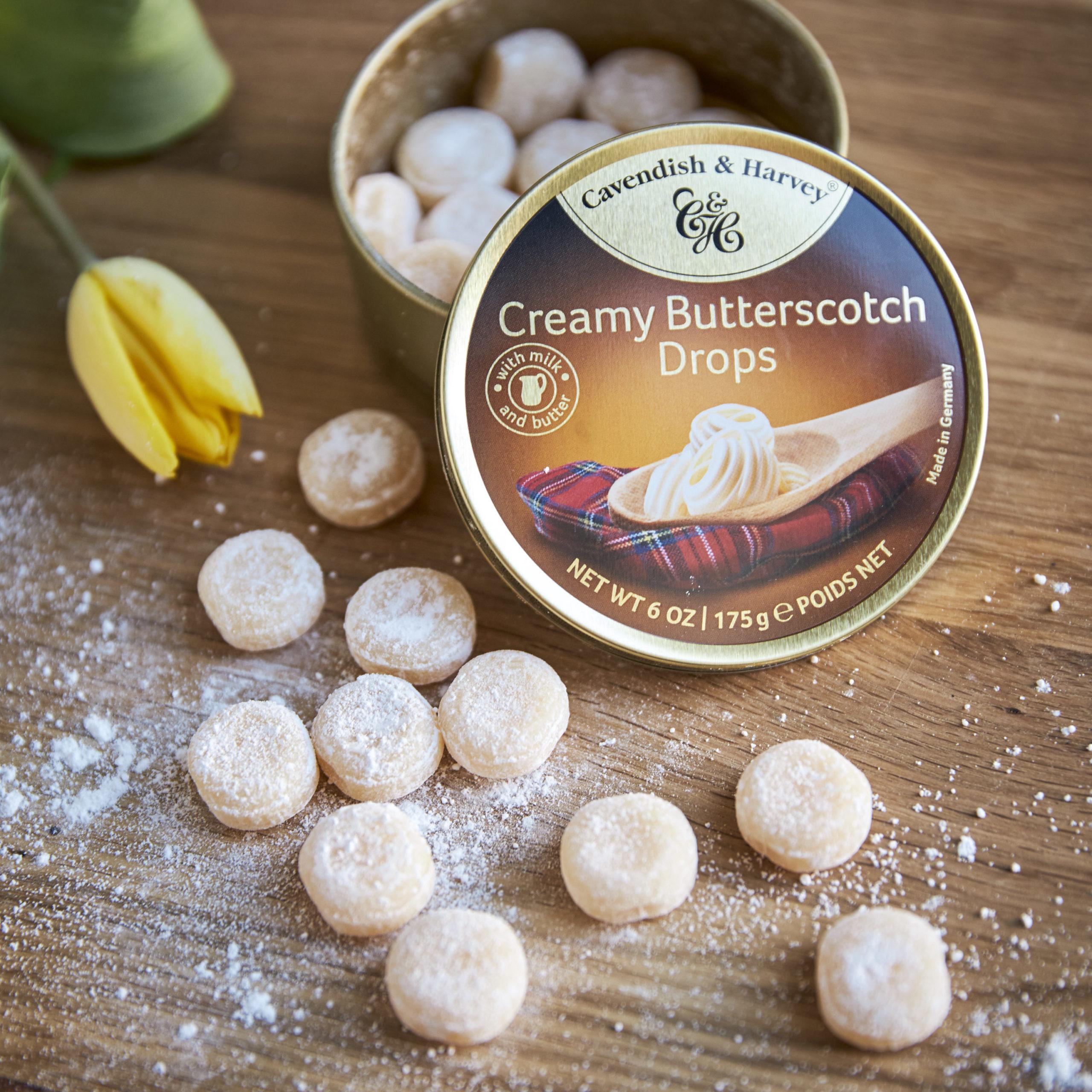 Was ist das Besondere an Creamy Butterscotch Drops?