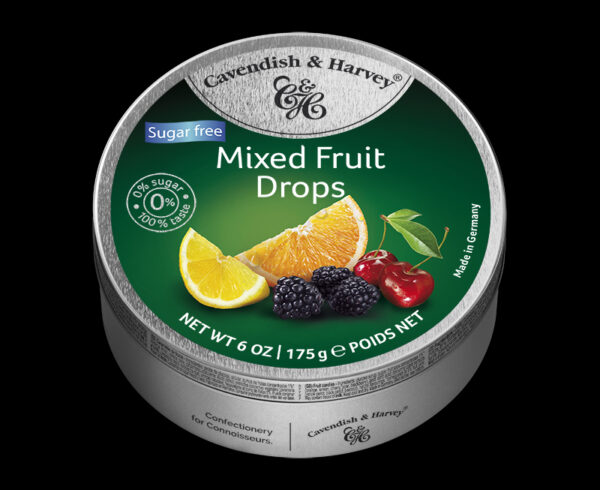 Sugar Free Mixed Fruit Drops, 175g