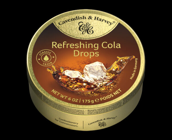 Refreshing Cola Drops, 175g, 600x490