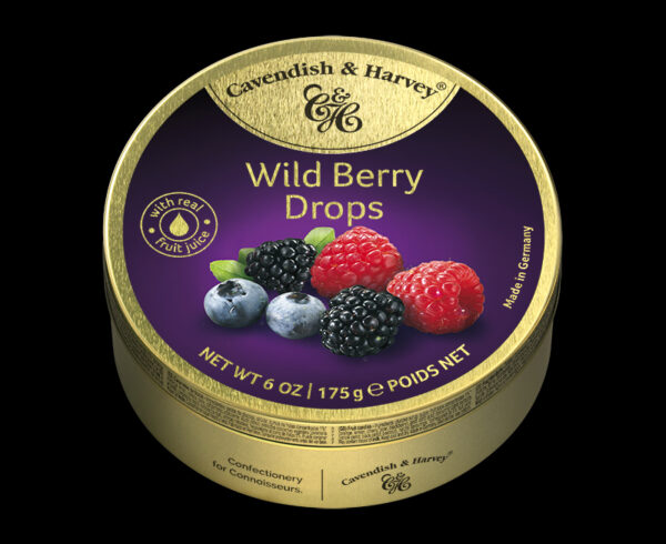 Wild Berry Drops, 175g, 600x490