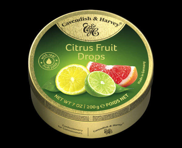 Citrus Fruit Drops, 200g