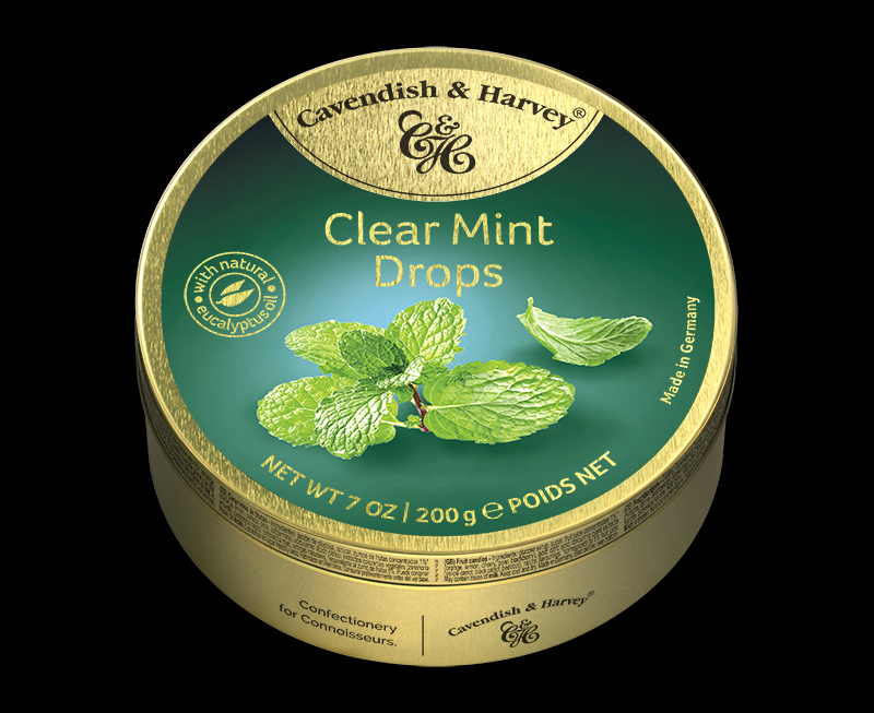 Clear Mint Drops, 200g