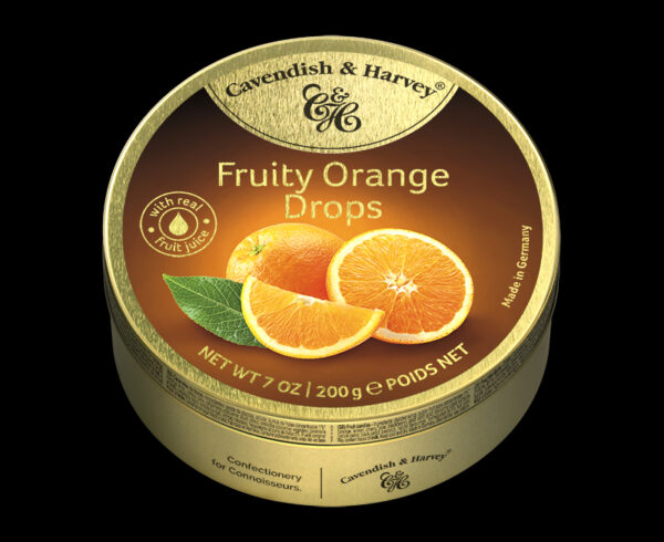Fruity Orange Drops, 200g, 600x490