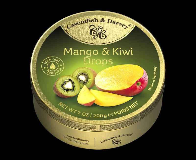 Mango & Kiwi Drops, 200g