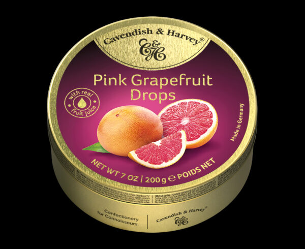 Pink Grapefruit Drops, 200g, 600x490