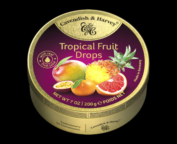 Tropical Fruit Drops, 200g, 600x490