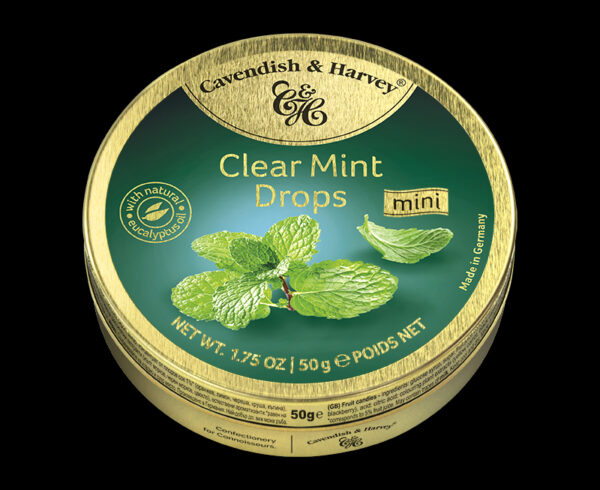 Clear Mint Drops, 50g, 600x490