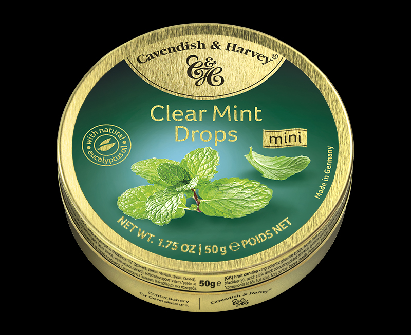 Clear Mint Drops, 50g