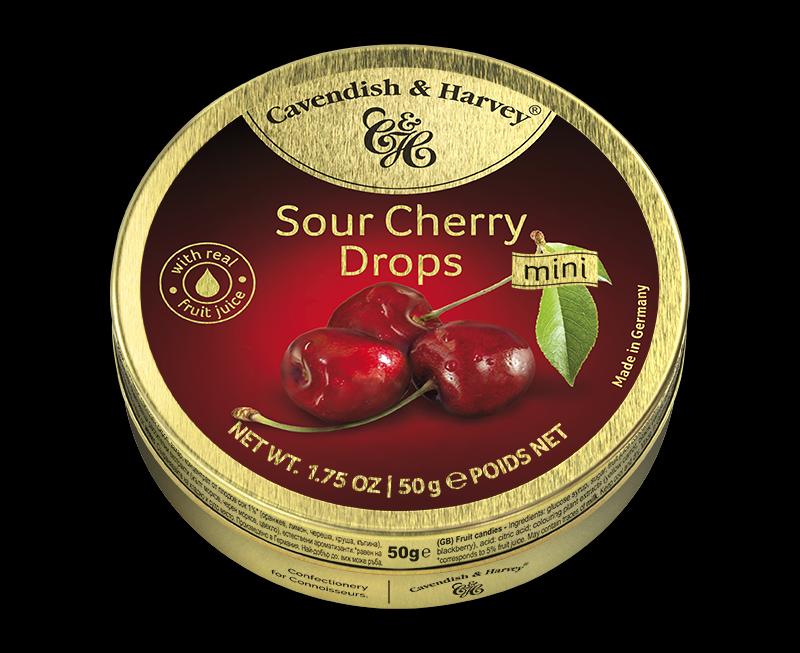 Sour Cherry Drops, 50g