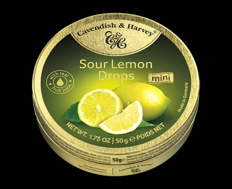Sour Lemon Drops, 50g