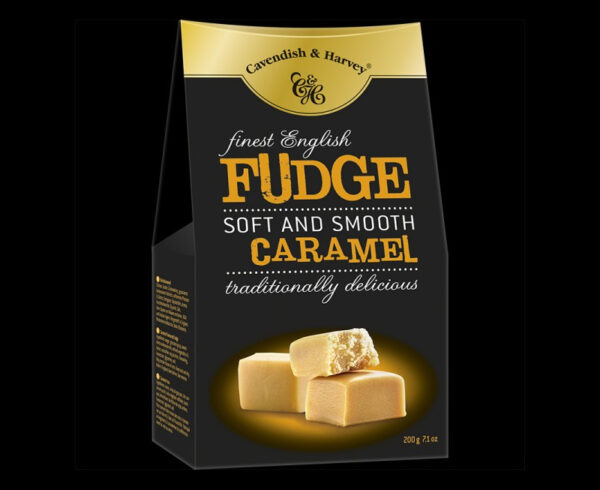 Finest English Caramel Fudge, 200g, 600x490