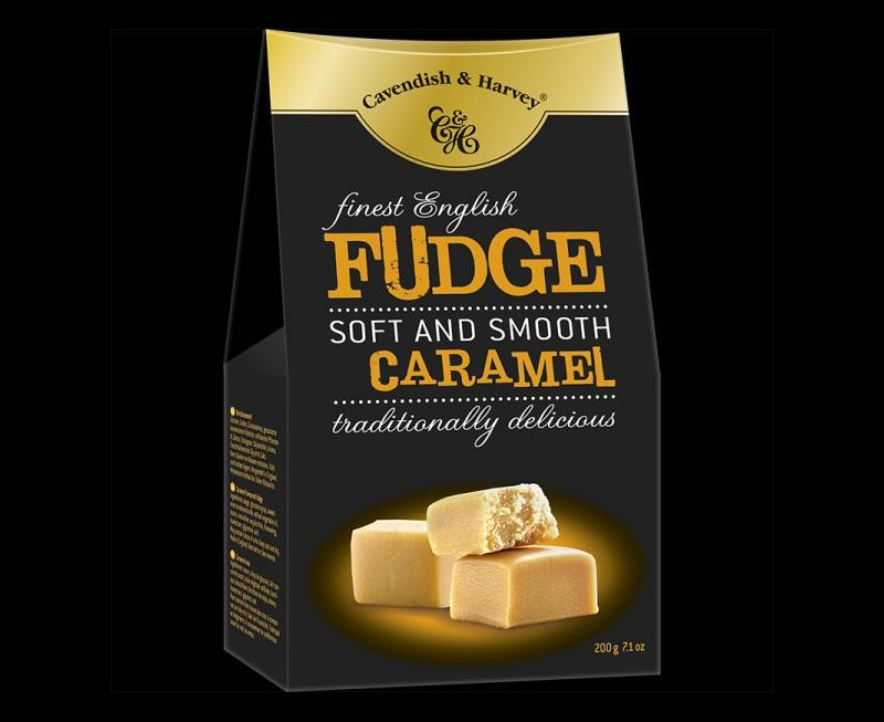 Finest English Caramel Fudge, 200g