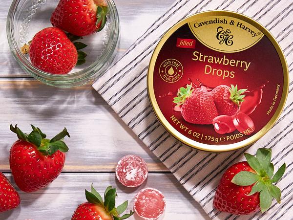 Was ist das Besondere an Strawberry Drops?