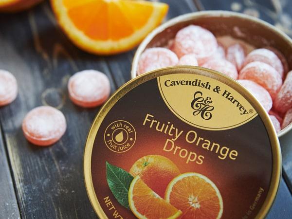 Was ist das Besondere an Fruity Orange Drops?
