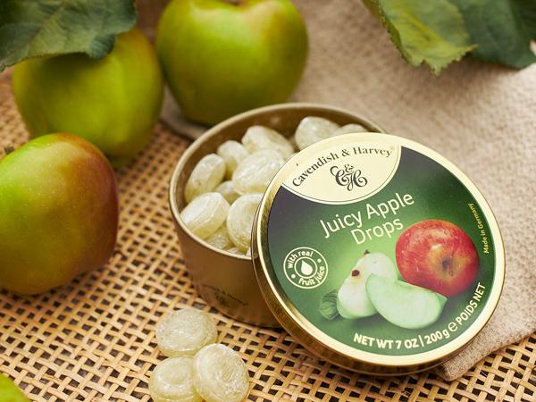 Was ist das Besondere an Juicy Apple Drops?