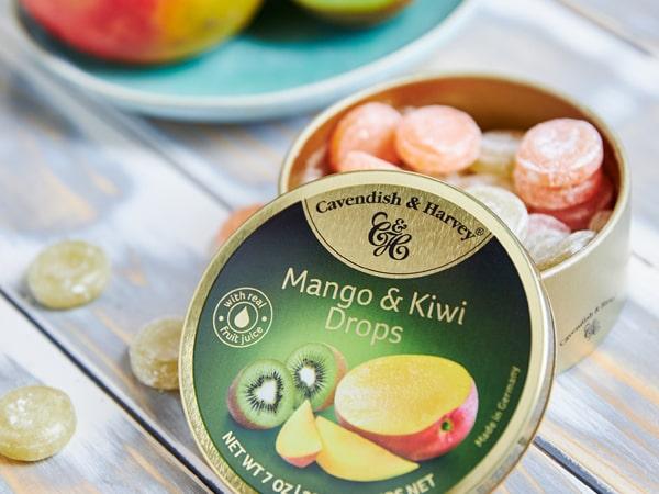 Was ist das Besondere an Mango & Kiwi Drops?