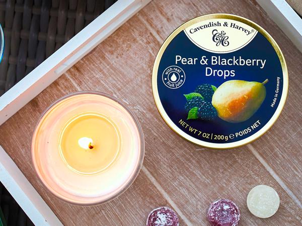 Was ist das Besondere an Pear & Blackberry Drops?