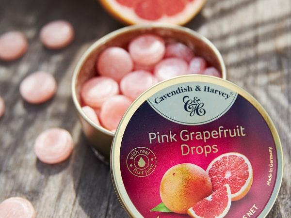 Was ist das Besondere an Pink Grapefruit Drops?