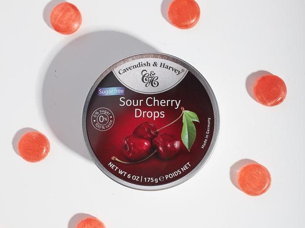 Was ist das Besondere an Sugar Free Sour Cherry Drops?