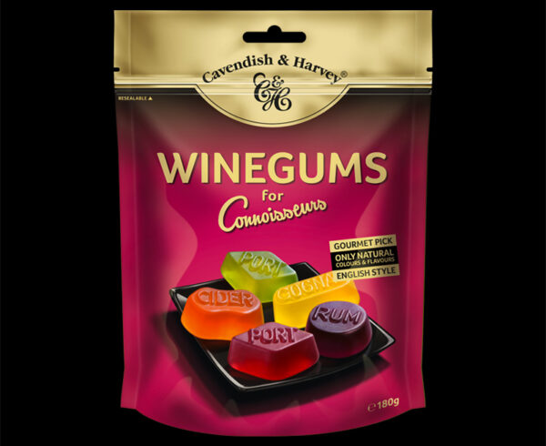 Winegums for Connoisseurs, 180g, 600x490
