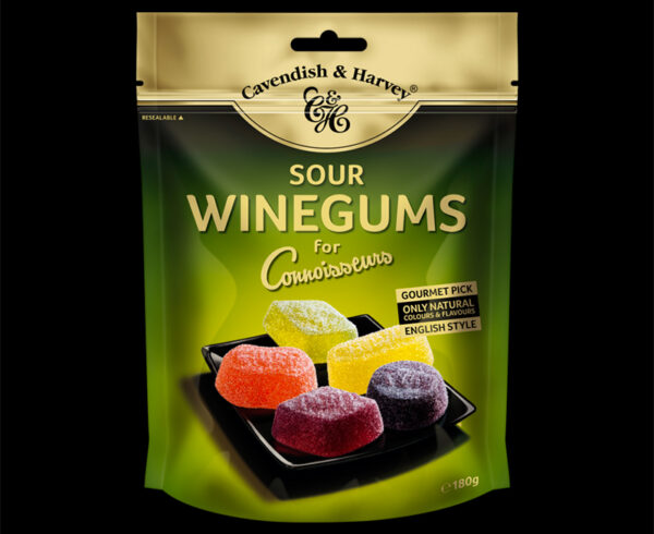 Sour Winegums for Connoisseurs, 180g