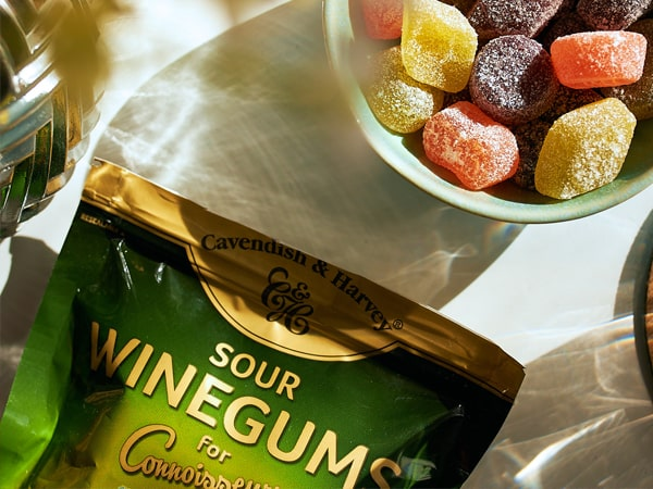 Was ist das Besondere an Sour Winegums for Connoisseurs?